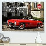 Die Legende: 300 SL (Premium, hochwertiger DIN A2 Wandkalender 2022, Kunstdruck in Hochglanz): Der legendäre Mercedes 300 SL in opulenten Bildern (Geburtstagskalender, 14 Seiten )