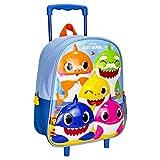 CERDÁ LIFE'S LITTLE MOMENTS Infantil, Mochila con Carro 3D de Baby Shark-Licencia Oficial Nickelodeon para Niños, Multicolor