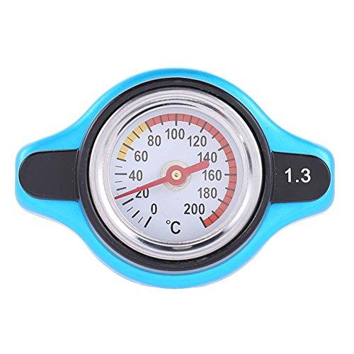 Everpert - Tapa universal para radiador de coche, medidor de temperatura del agua y medidor de temperatura