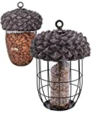 BestNest Esschert Design Acorn Bird Feeder Package