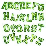 Parches para Ropa Escuela Kindergarten's Learn Music Bordery Inglés Alfabeto (un Conjunto de 26 artículos, 1 Set por Paquete) (Aproximadamente 2-5 cm). (Color : 10)