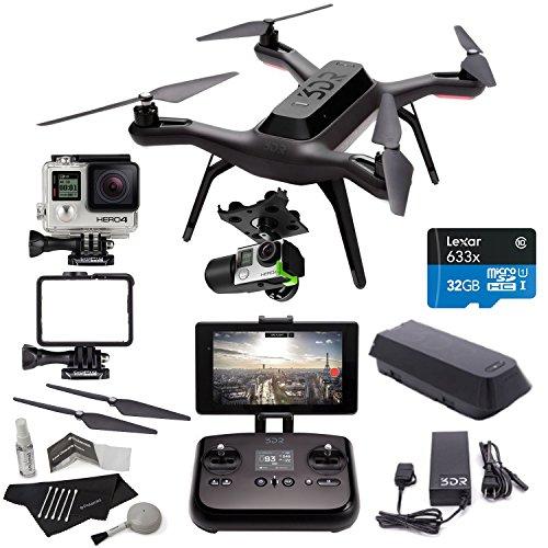 3DR Solo Drone Quadcopter + 3D Robotics Solo...