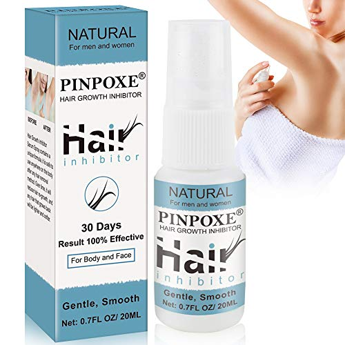 Haar inhibitor spray, Stop Hair Growth, Hair Growth Inhibitor, Enthaarungsmittel, Haarentfernungsspray, schmerzloses Haarentfernung Schaum für Männer und Frauen, für Gesicht, Arm, Bein, Achselhöhle