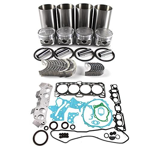 PANGOLIN 4G64 8V Engine Rebuild Kit for Forklift Truck Clark LPG Mitsubishi Engine Aftermarket Parts, 3 Month Warranty