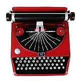 BESPORTBLE Vintage Typewriter Retro Typewriter Model Manual Typewriter Photo Prop 1Pc