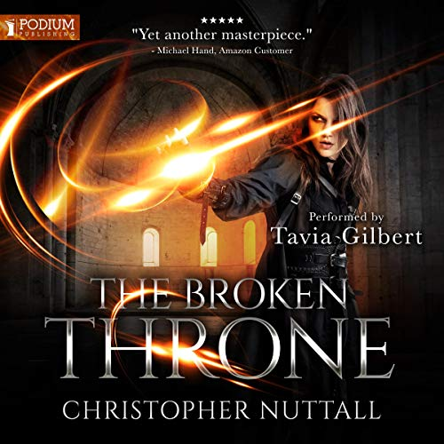 The Broken Throne     Schooled in Magic, Book 16              Written by:                                                                                                                                 Christopher G. Nuttall                               Narrated by:                                                                                                                                 Tavia Gilbert                      Length: 13 hrs and 12 mins     Not rated yet     Overall 0.0
