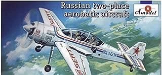 Sukhoi Su-29 Russian two-place aerobatic aircraft 1/72 Amodel 72269