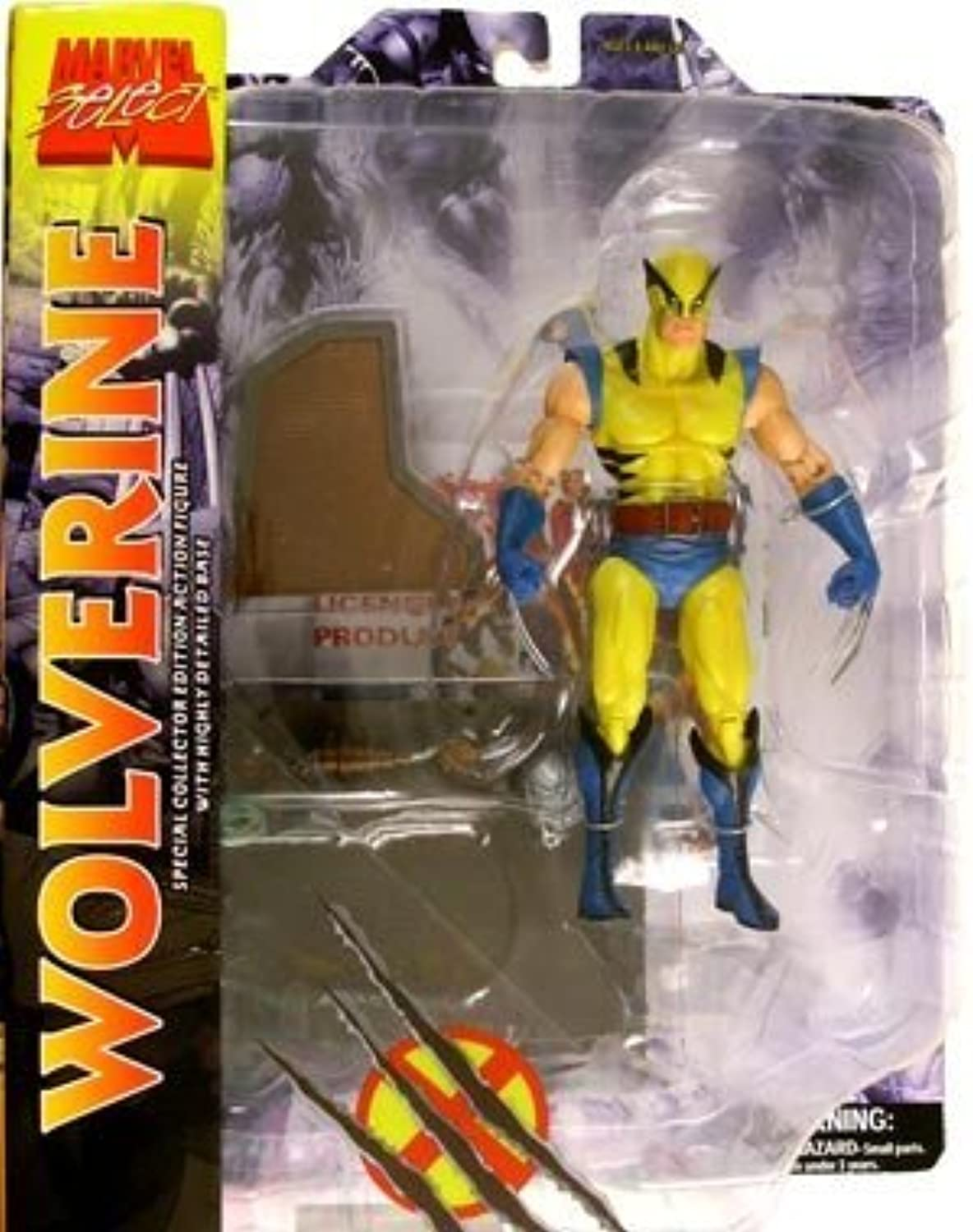 Marvel Select Action Figure Wolverine (First Appearance Variant) by Diamond Select