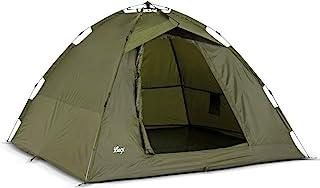 Lucx® Ruck Zuck tält/fisketält, 1–2 Man Bivvy / 1–2 karptält/campingtält/sekundtält/snabbbyggstält