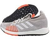 adidas Originals Women's PulseBOOST HD Running Shoe, Grey/White/hi-res Coral, 7.5 M US
