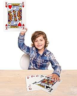 Forum Novelties Mega Jumbo Face Extra Large Playing Cards- 11