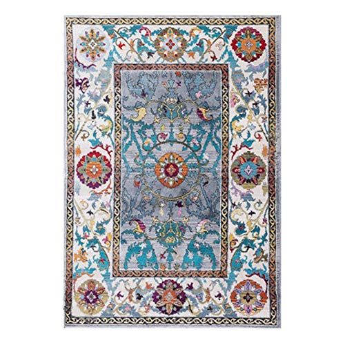 CarPet Superior Elegant Area Rug, Attractive Rug with Rubber Backing, Durable and Beautiful Woven Structure, Machine Washable (Size : 45X75cm)