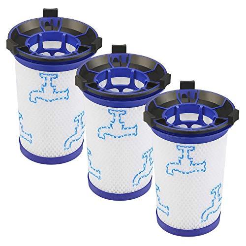 Haude 3PCs Accesorios para Aspiradoras Filtro para ZR009001 Reemplazo de Piezas Rowenta Air Force 360 ??RH9015WO