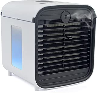STAYCOOL Arctic Blast Personal Air Cooler V2 - USB Powered Humidifier Fan With Colour Changing LED Night Light Water Tank...