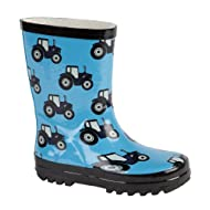 THEMED WELLIES WELLINGTON BOOTS TRACTOR