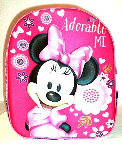 Sac à dos Minnie pour enfant « Adorable Me ». Original uniquement en cadeaux Latorre. Le visage de Minnie est en relief sur le sac à dos. Dimensions : 27 x 34 x 10 cm. Env.