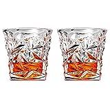 MINGZE Verres à Whisky, Transparents Cristal Sans Plomb Verres à Boire...
