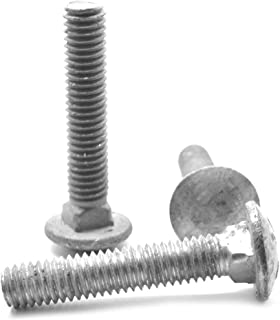 Zinc Plated Steel Carriage Bolt 3//4-10 11 Length Pack of 10 Oval Head Pack of 10 Small Parts 11 Length 3//4-10