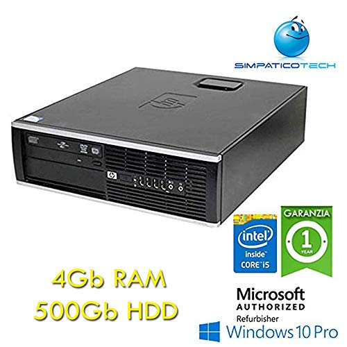 PC HP Compaq 8300 Elite Core i5 – 3470 3.2 GHz 4 GB RAM 500 GB DVD SFF Windows 10 Professional (Reacondicionado)