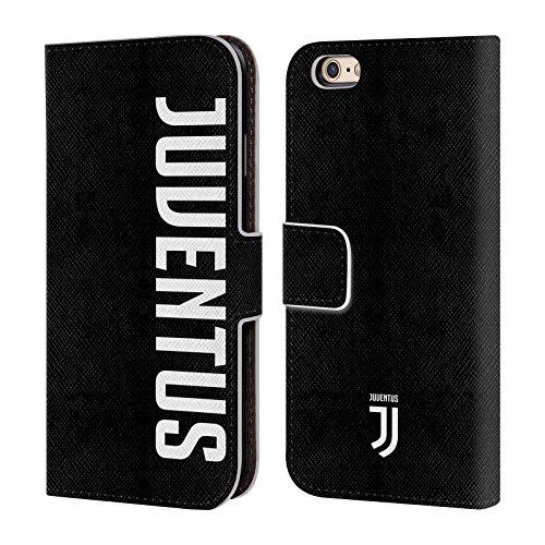 Head Case Designs Offizielle Juventus Football Club Logotype Lifestyle 2 Leder Brieftaschen Handyhülle Hülle Huelle kompatibel mit Apple iPhone 6 / iPhone 6s