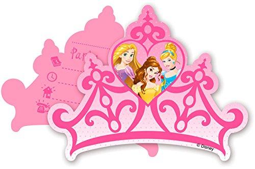 Procos Einladungskarten * I'm Princess * 6 Stck. / ca. 14 x 10 cm
