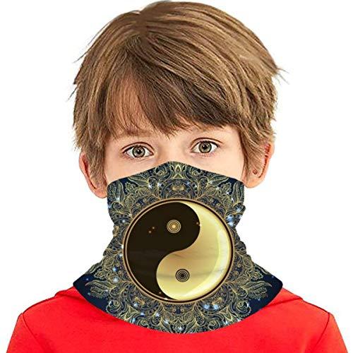 Diwali Om Symbol Mandala Runde Mantra Gesicht Schal Abdeckung Kinder Gesicht Abdeckung Variety Hals Stirnband