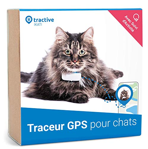 Le collier GPS chat Tractive IKATI