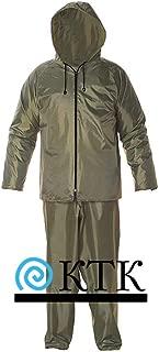 Waterproof Rain Suit With Hood For Men And Women