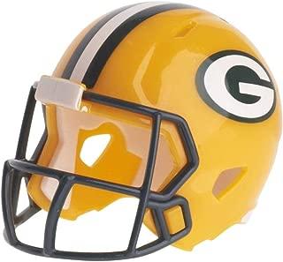 Green Bay Packers NFL Riddell Speed Pocket PRO Micro/Pocket-Size/Mini Football Helmet