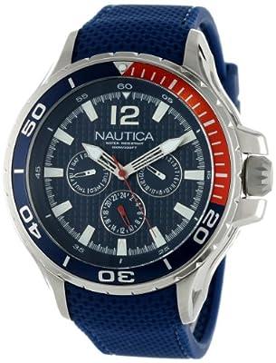 13e31fb5e53b Cyber Black Friday Nautica Men s N17613G NST 02 Classic Analog Watch Best