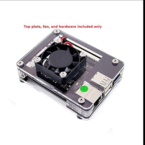 Fan Upgrade for Rock64 Zebra Case ~ C4Labs