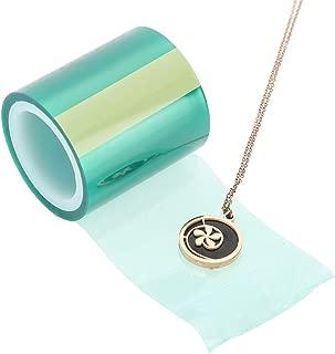 Jacksking Paper Tape, Seamless Tape DIY Pendant UV Resin Jewelry Metal Frame Tools Arts Making Metal Craft Traceless Tape