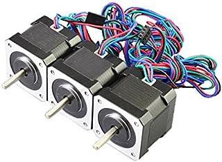 NEMA 17 and NEMA 23 Motors. 2pcs 500mm MTW3D Stepper Motor Cable for 3D Printers and CNC