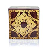Hellraiser 4-Inch Puzzle Stash Box Storage Tin - Licensed Collectible Horror Movie Merchandise - Novelty Scary Film Home and Office Decor