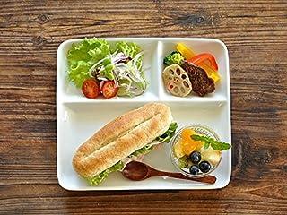 【M'home style】白い食器 チョー使いやすいM'オリジナルランチプレート ホワイトレベル1