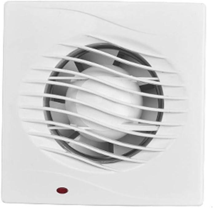 Yousiju Tipo de ventana Potente ventilador de escape silencioso Tipo de pared Extractor de inodoro Ventilador doméstico pequeño Baño
