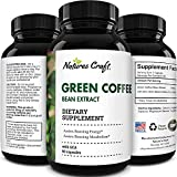 Green Coffee Bean Extract Capsules-Green Coffee Extract Natural Energy Pills for Fatigue Immune Support and Anti Aging Brain Booster Burn Supplement