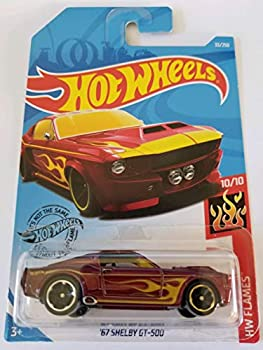 Hot Wheels 2019 Hw Flames  67 Shelby GT-500 33/250 Red