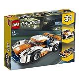 LEGO Creator AutodaCorsa, Macchina da Corsa Classica Open-Top e Motoscafo, Set da Costruzione 3 in 1, Veicoli Giocattolo per Bambini dai 7 Anni in su, 31089