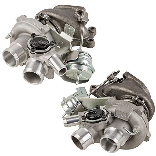 Pair Twin Turbo Turbocharger Kit For Ford F-150 F150 3.5L EcoBoost V6 2010 2011 2012 - BuyAutoParts 40-80242IK New
