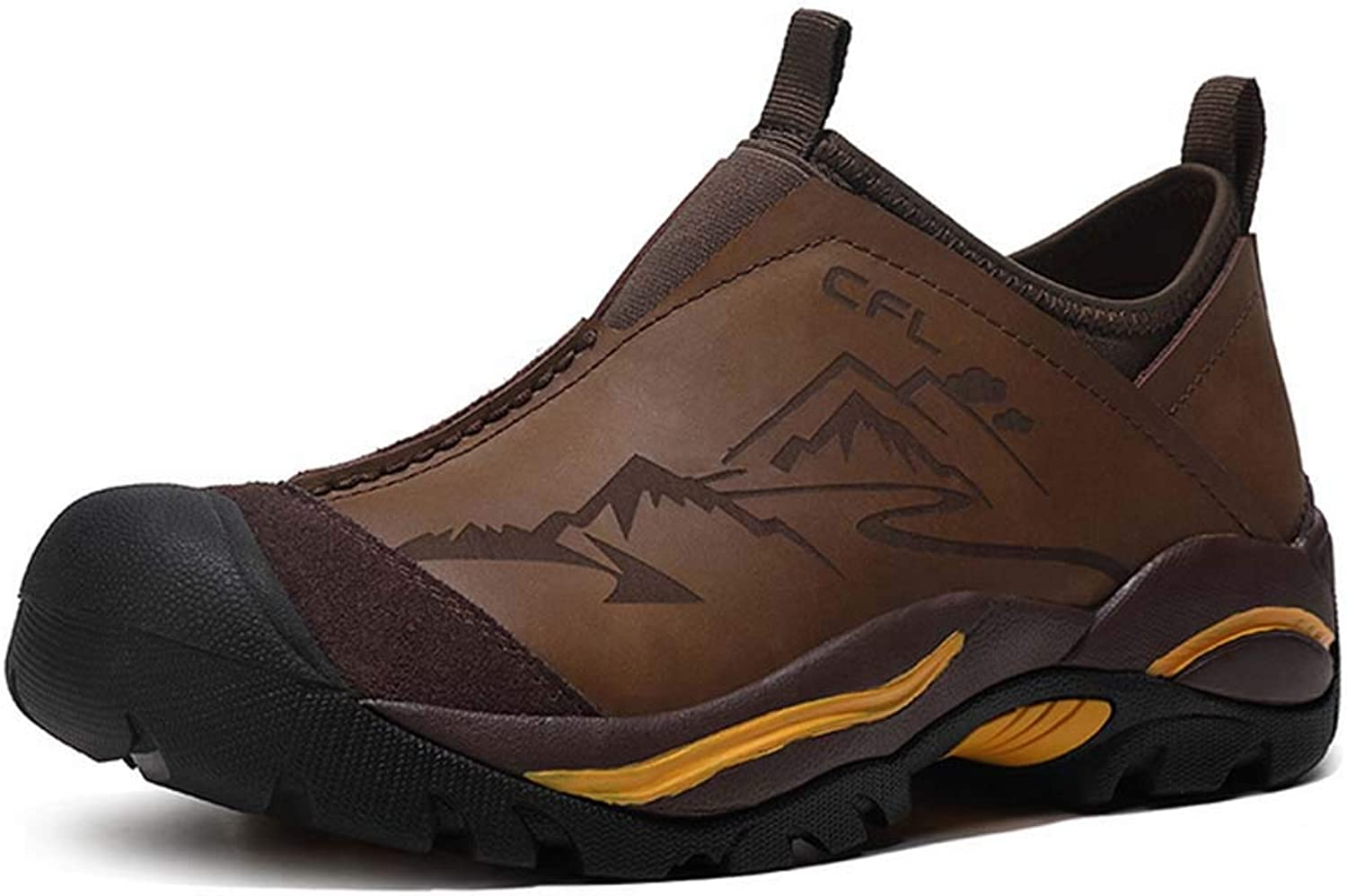 Hiking shoes Men Walking shoes,Outdoor Sneaker,Breathable Hiking Footwear Casual Comfortable Running shoes Waterproof Safety Boots