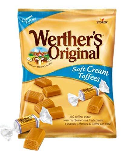 Werther'S Original - Caramelos blandos de toffee con nata - 1000 g