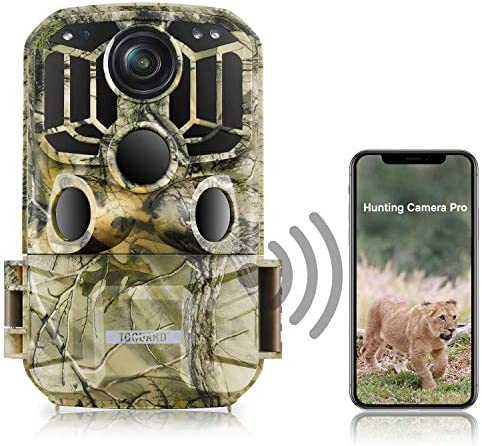 TOGUARD WiFi Trail Camera 20MP 1296P Game Camera Motion Activated Night Infrared Vision Waterproof product image