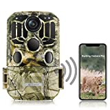 TOGUARD WiFi Trail Camera 20MP 1296P Game Camera Motion Activated Night Infrared Vision Waterproof...