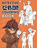 Detective Conan Coloring Book: Anime Soft Glossy Cover With New Coloring Pages, Coloring Book