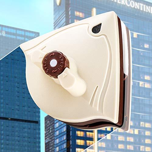 Limpiacristales de ducha, limpiacristales, herramientas de limpieza magnéticas, cepillo de limpieza de vidrio, uso para ventanas de edificios de gran altura de 5 a 35 mm