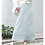ビス(ViS) 【WEB限定】レースロングスカート