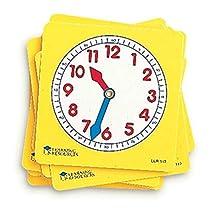 ラーニング リソーシズ(Learning Resources) 学習時計 プラスチ...