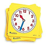 Learning Resources LER0112 Zifferblätter für Schüler (Set mit 10Stück) -