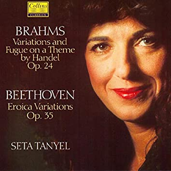 """Beethoven: """"Eroica"""" Variations - Brahms: Variations and Fugue on a Theme by Handel"""